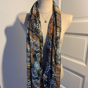 H&M tribal pattern scarf